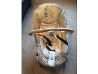 Bouncy chair & play mat