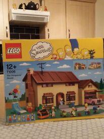 Simpson lego house