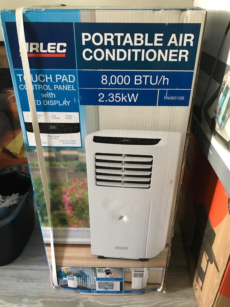 Arlec Portable Air Conditioner 8 000 Btu H 2 35kw In