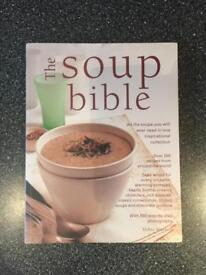 The Soup Bible recipe book (brand new)