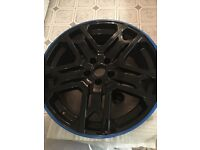 """Genuine Kahn RS600 20"""" alloy wheels (set of 4) mint condition"""