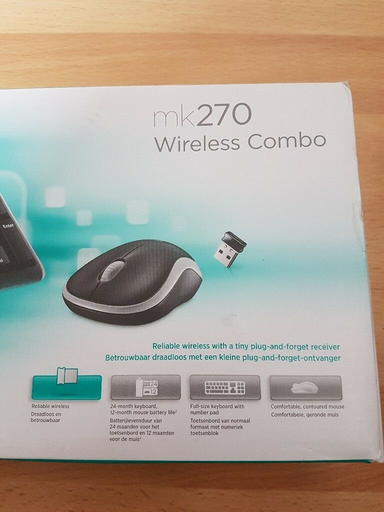 *** Logitech MK270 Wireless Keyboard and Mouse Combo - Brand New in Sealed  Box - Only £10 *** | in Lisburn, County Antrim | Gumtree