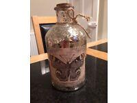 Decorative vintage-style mercury bottle