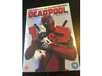 Collection of brand new dvds - Deadpool 1 & 2, American horror story cult, American Dad