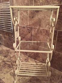 Towel shelves for bathroom