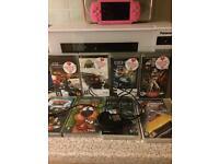 Pink Sony PSP