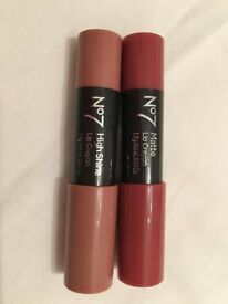 No7 Lip Crayons - Brand New