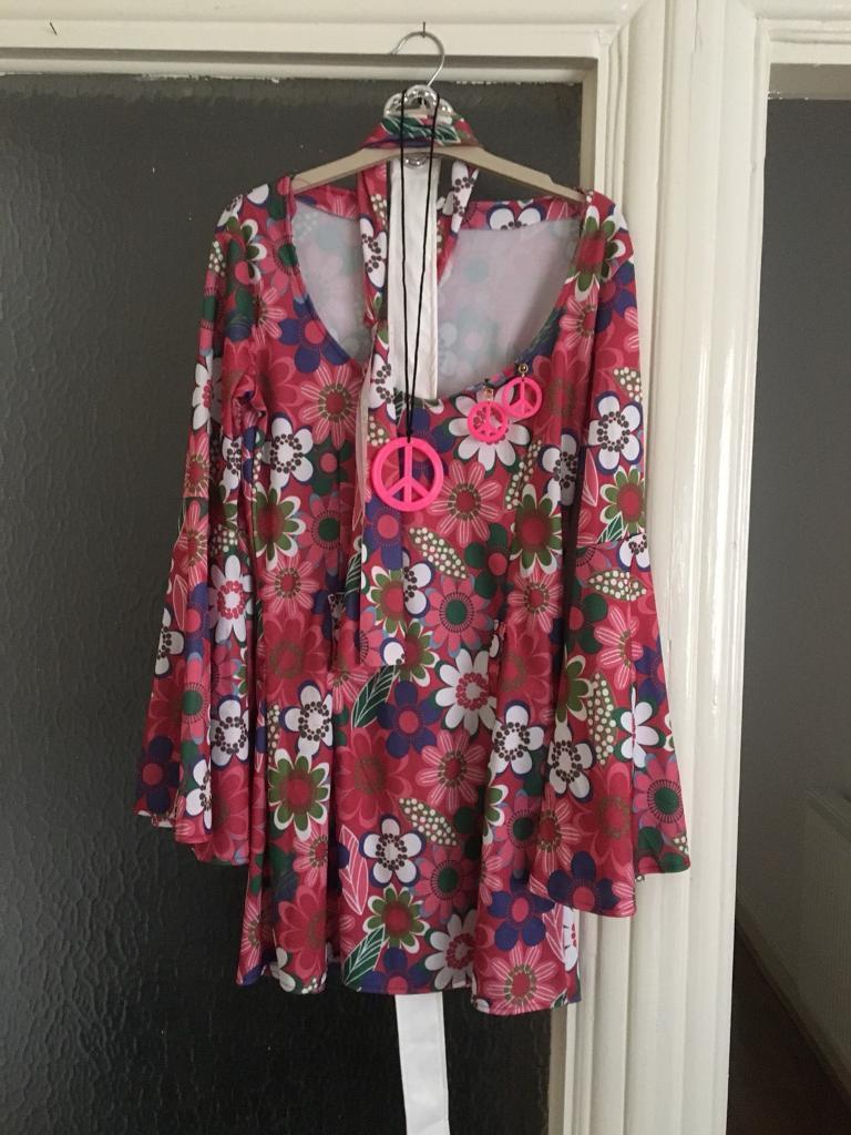 Swinging 60s dress - small