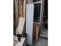 Vertical Designer Radiator for sale - double panel - 1800*318mm width