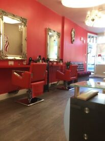 Hair and beauty salon for rent fully equipped