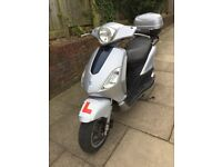 2008 Piaggio Fly 125cc - Scooter - £650