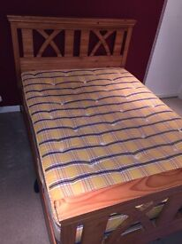 Double Bed and Mattress *SOLD*