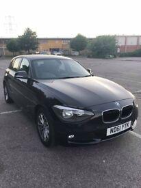 BMW 1 series 2012 f20 black 1.6i sport, petrol, manual, 6 speed gearbox