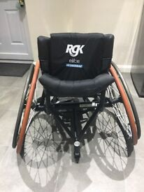 RGK Elite Sports Wheelchair - Aluminium 7020 RRP £3,500