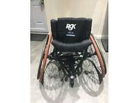 RGK Elite Sports Wheelchair - Aluminium 7020 RRP £3,500