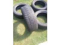 2 summer and 2 winter tyres 205 55 16