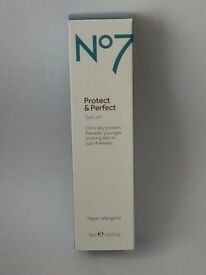 N07 Protect and Perfect - Serum ** Brand New **