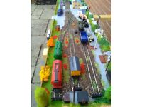 00 gauge Model Railway end to end shunting layout
