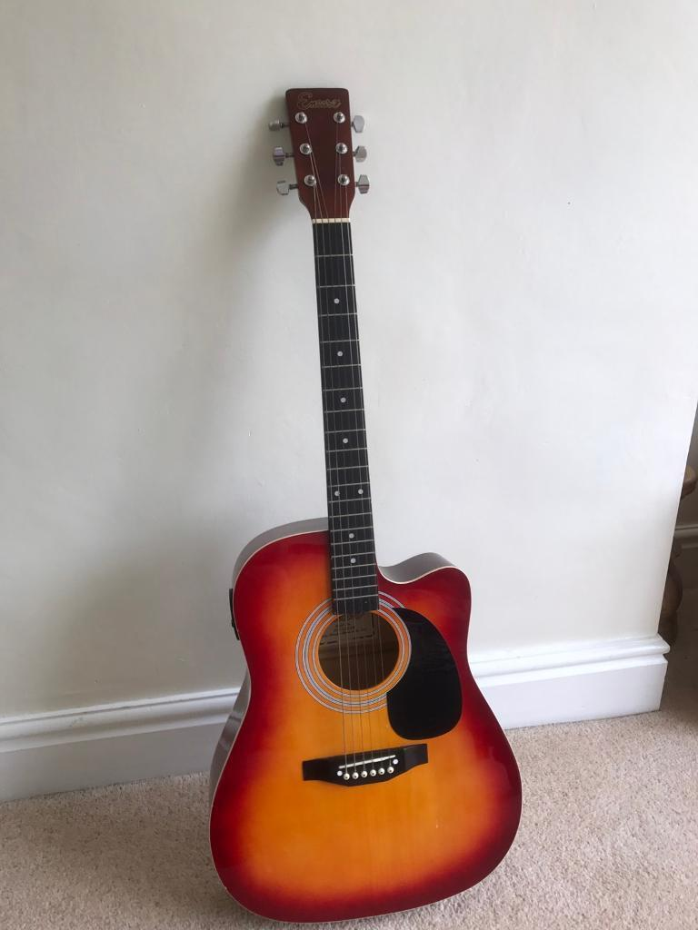 Encore electric acoustic guitarin Standish, ManchesterGumtree - Encore electric acoustic guitar in lovely condition does need tuning collection from standish