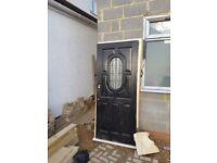 Windows, door and radiators