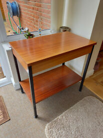 A small rectangular table