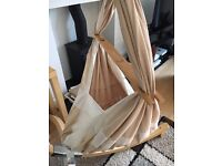 Miyo Baby Hammock with Wooden Arch Stand