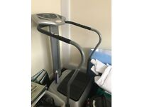 Vibration Plate, hardly used, excellent condition