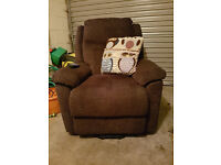 Riser Recliner Chair, 18 months old, in as new condition