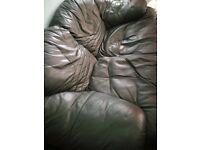 second hand sofa - FREE if collected -