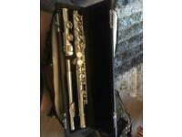 Mirage silver flute