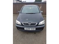 Vauxhall Zafira- 7 Seater