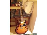 Vintage 1981 Ibanez AS100 (artist series) -Gibson ES335-
