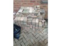 ++++ RELISTED+++++. *FREE* blocwk paving bricks. 100-200 block paving bricks need gone