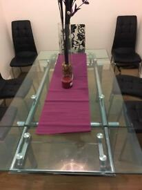 Glass Dining Room Table