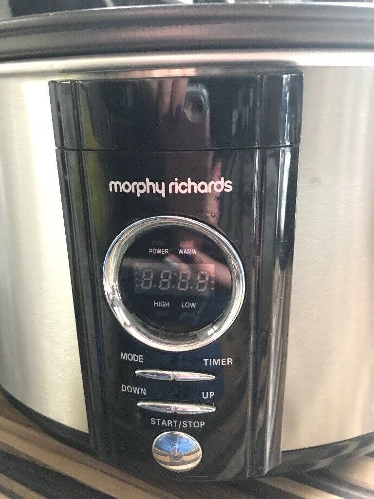 Morphy Richards digital Sear and Stew 6.5lt slow cooker