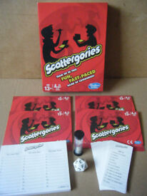 SCATTERGORIES. The game of categories. By Hasbro. Complete.