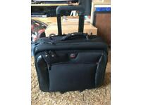 Wenger wheeled business flight case