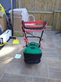 Nearly new lawnmower for sale