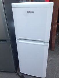 Beko white fridge freezer..Cheap free delivery