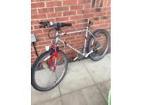 Men's mountain bike aluminium frame