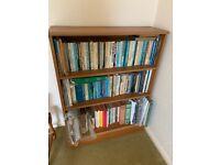 3 shelf modern style book case (no books)