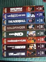 Collector's set of James Bond boxed set of classic movies