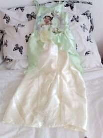 Princess Tiana Outfit 7-8 years