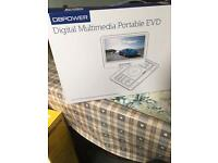 Completely new 10.5inch digital portable EVD player