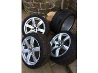 Audi R8 OEM wheel set