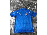 Italian football jersey 2010