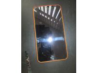 FAULTY MICROSOFT NOKIA LUMIA 640 XL ORANGE 8GB UNLOCKED WITH CASE