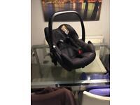 Maxi-Cosi Black Pebble Car Seat