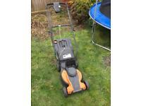 Lawn mower WORX good condition