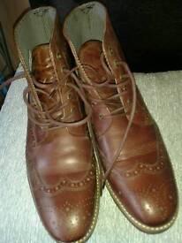 Mens Brogue Boots